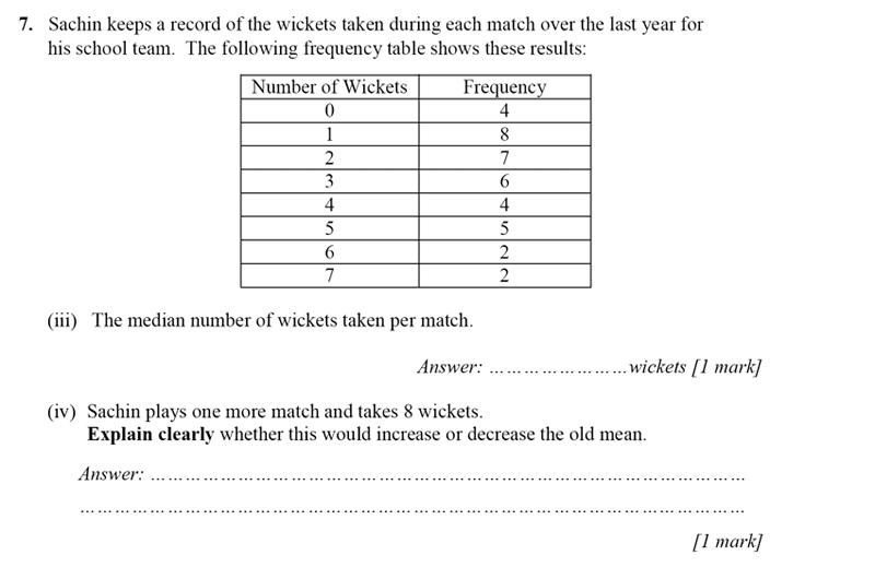 Merchant Taylors' School - 13 Plus Maths Entrance Exam 2017 Question 13