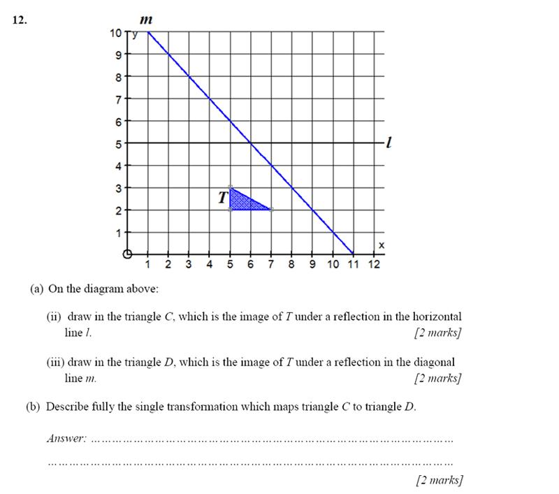 Merchant Taylors' School - 13 Plus Maths Entrance Exam 2017 Question 22