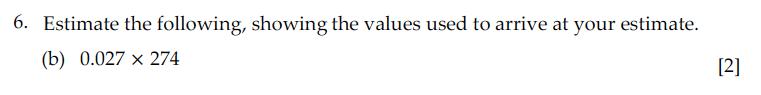 Sevenoaks School - Year 9 Maths Sample Paper 2010 Question 11