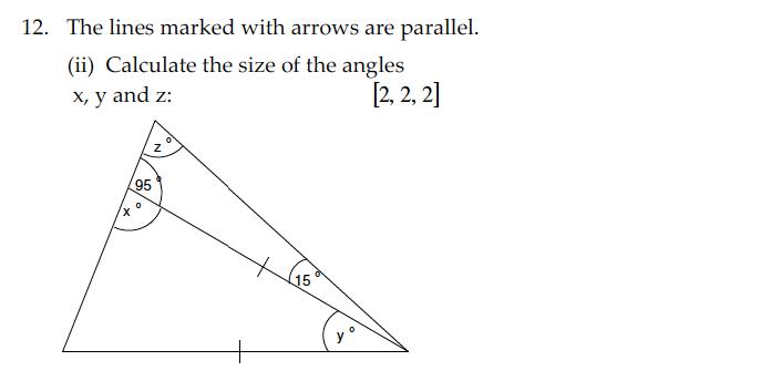 Sevenoaks School - Year 9 Maths Sample Paper 2010 Question 22