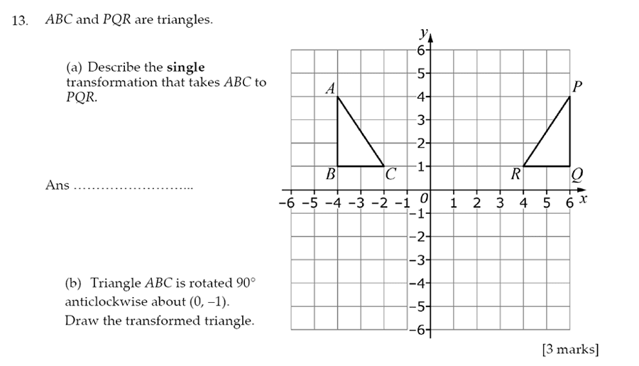 Sevenoaks School - Year 9 Maths Sample Paper 2012 Question 17