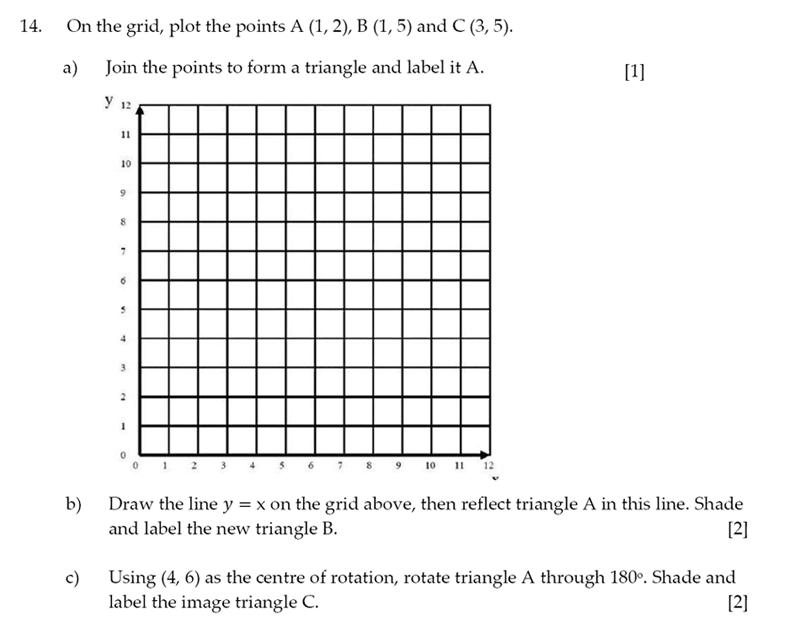 Sevenoaks School - Year 9 Maths Sample Paper 2014 Question 17