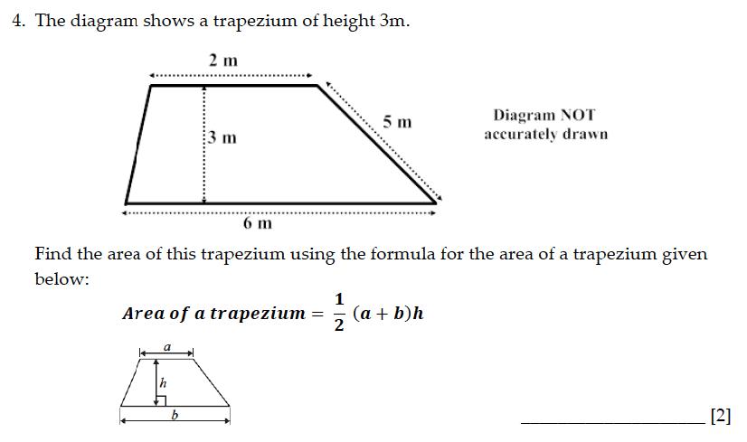 Sevenoaks School - Year 9 Maths Sample Paper 2015 Question 04