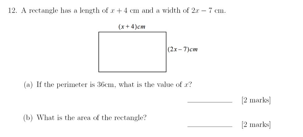 Question 16 Sevenoaks School - Year 9 Maths Sample Paper 2018 Answer