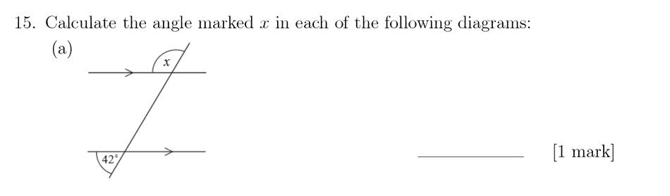 Sevenoaks School - Year 9 Maths Sample Paper 2018 Question 20