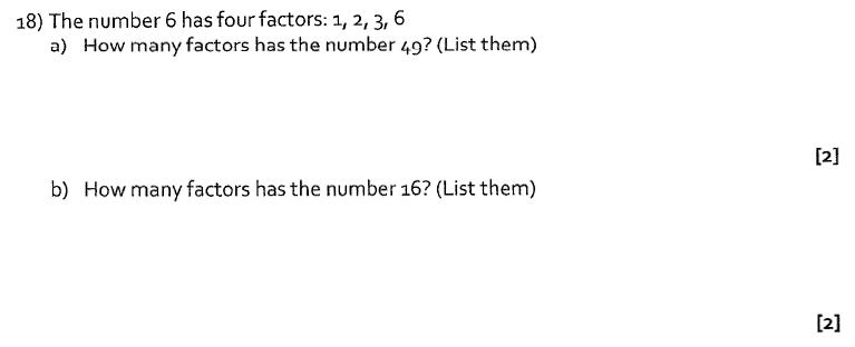 St Albans School, Hertfordshire - 13 Plus Entrance Exam Maths Paper 2016 Question 21