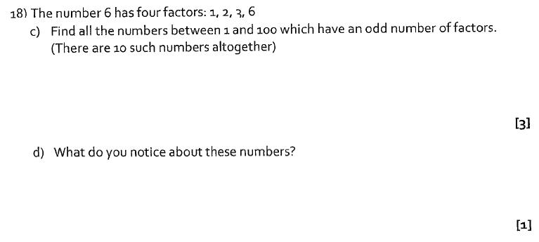 St Albans School, Hertfordshire - 13 Plus Entrance Exam Maths Paper 2016 Question 22