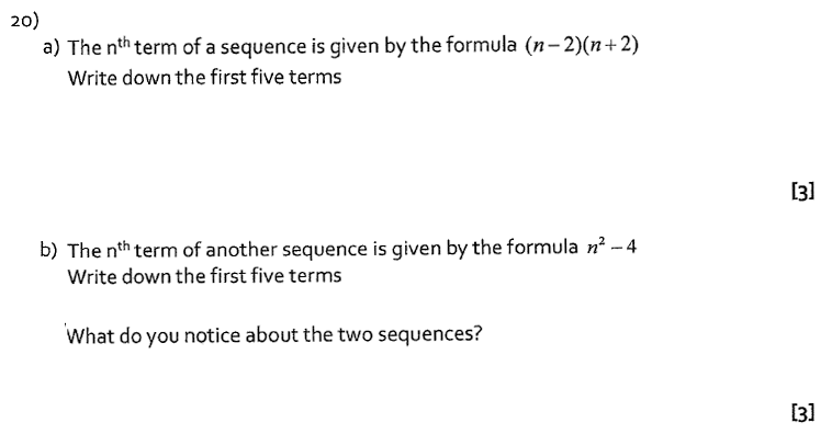 St Albans School, Hertfordshire - 13 Plus Entrance Exam Maths Paper 2016 Question 24