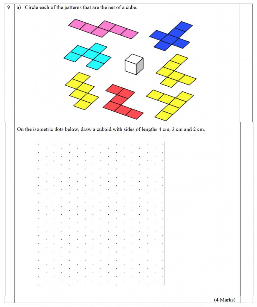 The John Lyon School - 13 Plus Maths Entrance Exam 2011 Question 10