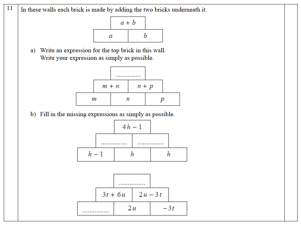 The John Lyon School - 13 Plus Maths Entrance Exam 2011 Question 14