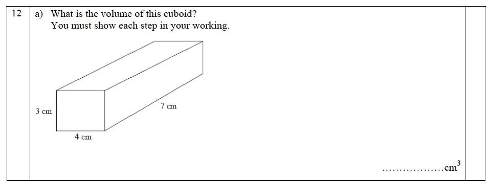The John Lyon School - 13 Plus Maths Entrance Exam 2011 Question 16