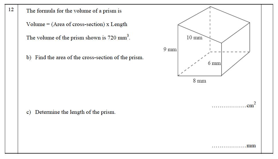 The John Lyon School - 13 Plus Maths Entrance Exam 2011 Question 17
