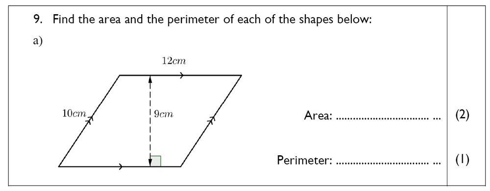 The John Lyon School - 13 Plus Maths Sample Paper Question 10
