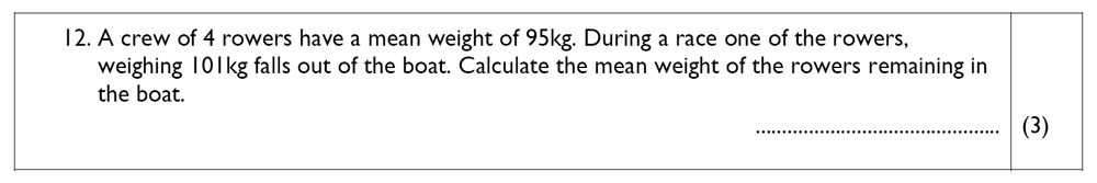 The John Lyon School - 13 Plus Maths Sample Paper Question 14