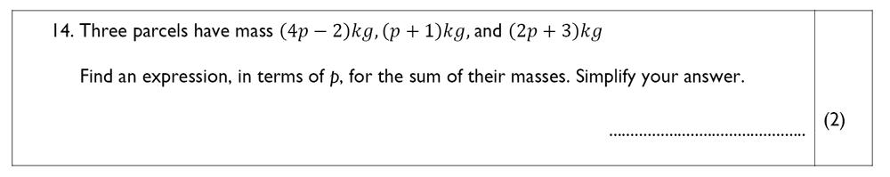 The John Lyon School - 13 Plus Maths Sample Paper Question 16
