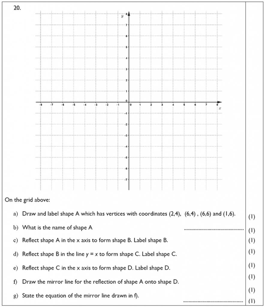 The John Lyon School - 13 Plus Maths Sample Paper Question 22