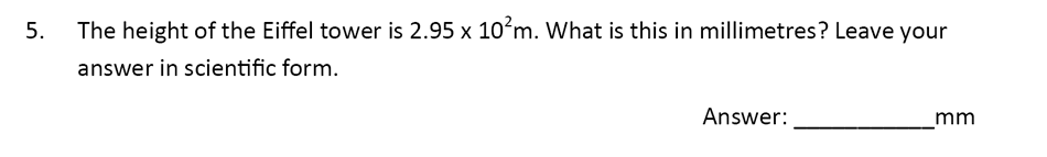 The Perse Upper School - Year 9 Maths Specimen Paper 1 Question 05