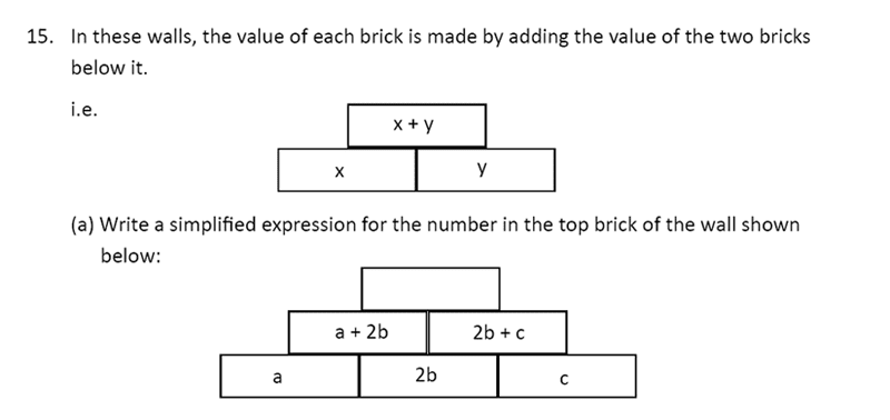The Perse Upper School - Year 9 Maths Specimen Paper 1 Question 16