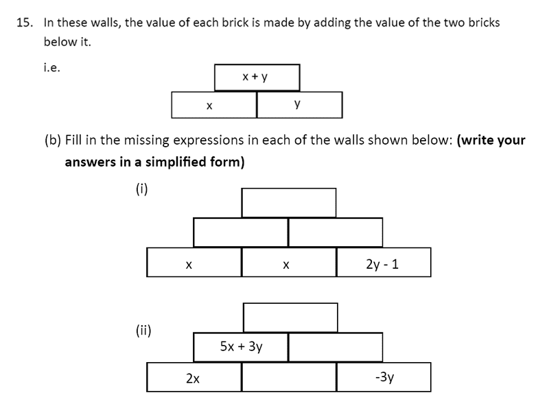 The Perse Upper School - Year 9 Maths Specimen Paper 1 Question 17