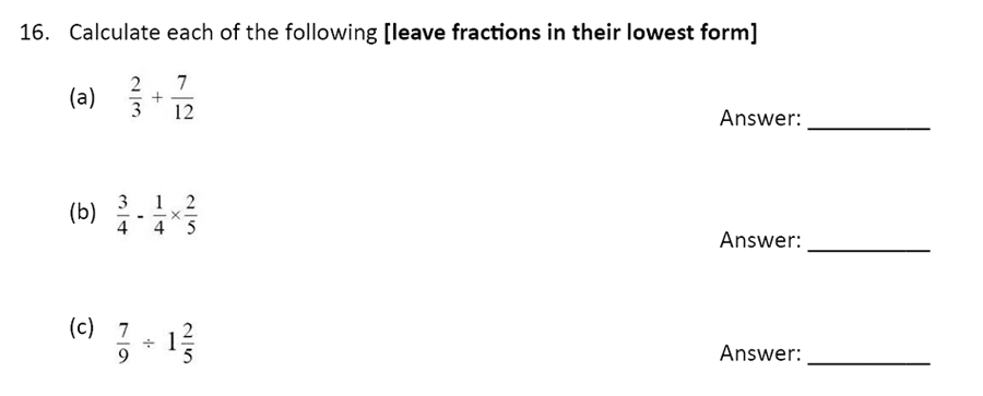 The Perse Upper School - Year 9 Maths Specimen Paper 1 Question 18