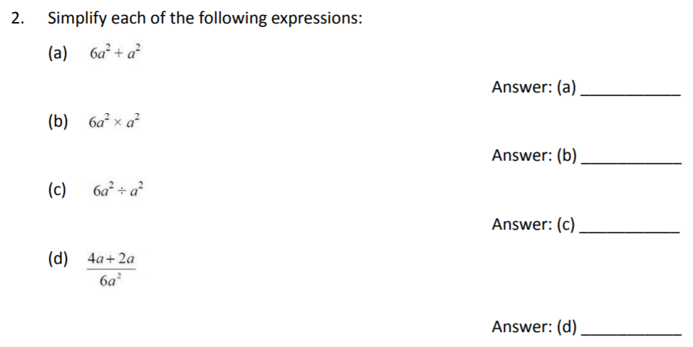 The Perse Upper School - Year 9 Maths Specimen Paper 2 Question 02