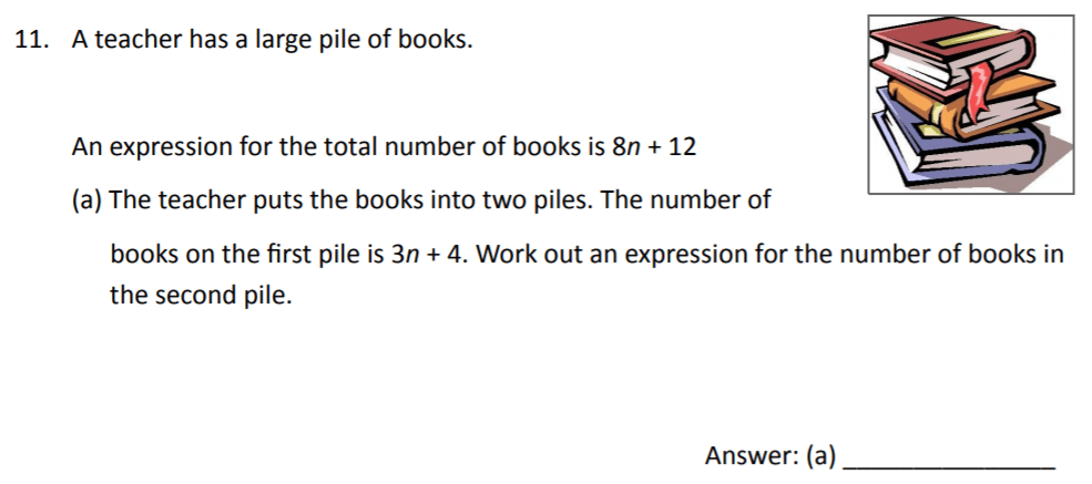 The Perse Upper School - Year 9 Maths Specimen Paper 2 Question 11