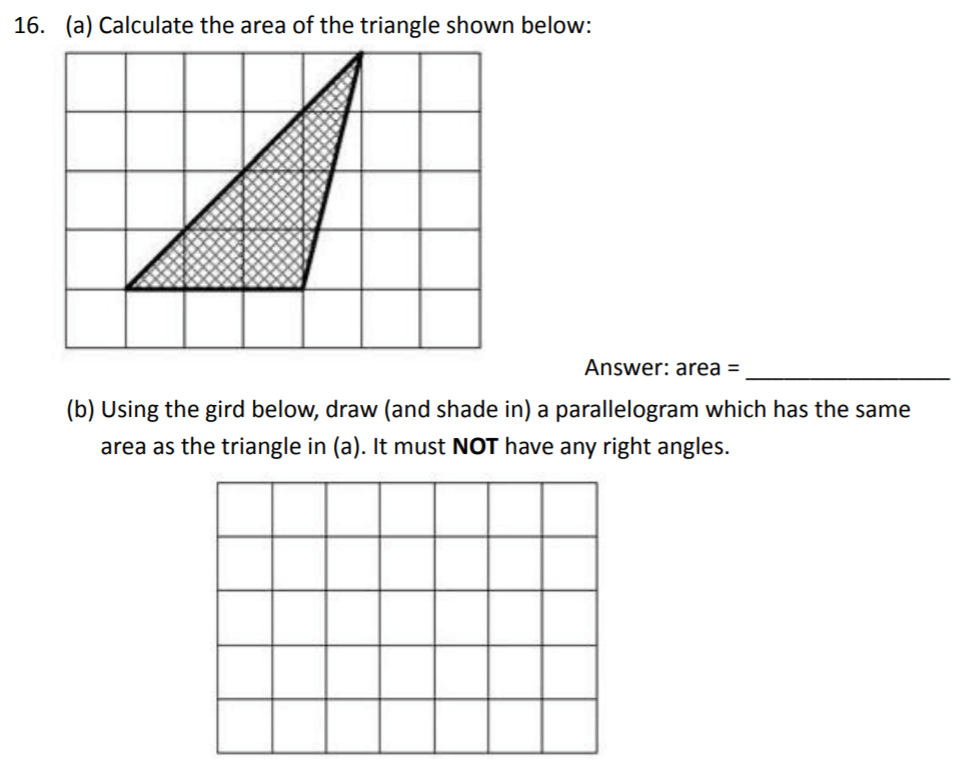 The Perse Upper School - Year 9 Maths Specimen Paper 2 Question 18