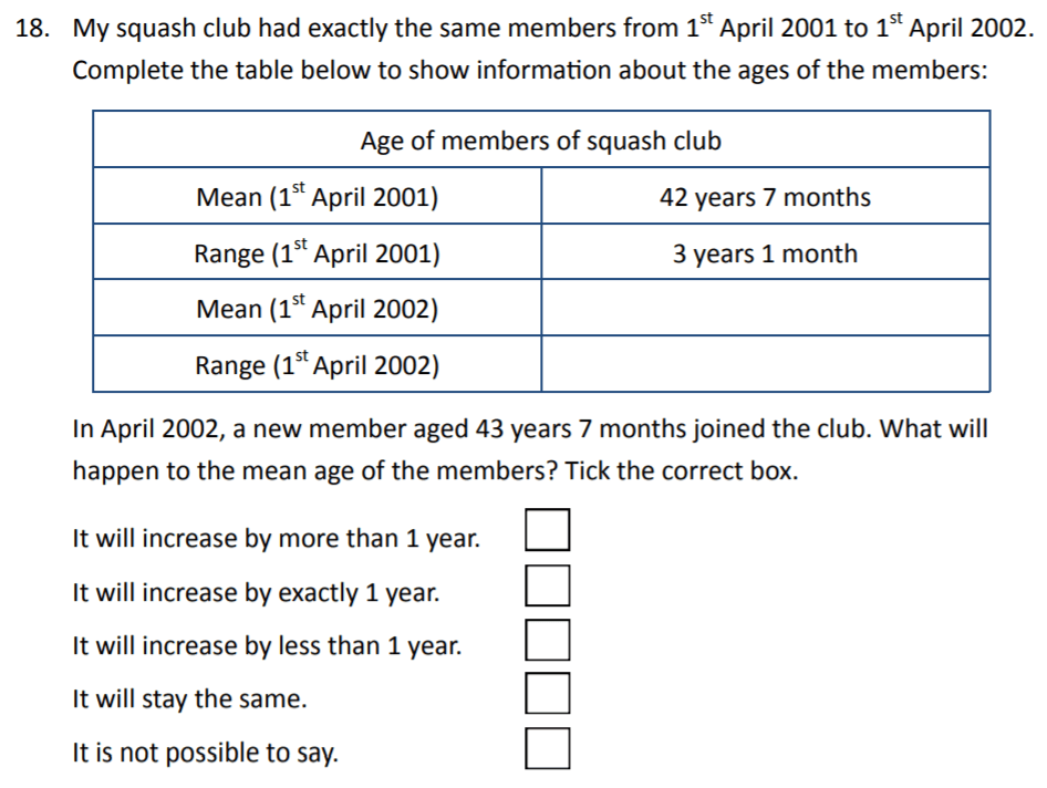 The Perse Upper School - Year 9 Maths Specimen Paper 2 Question 20