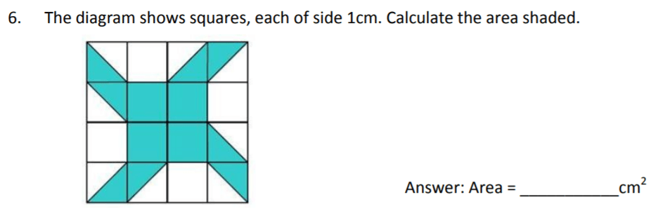 The Perse Upper School - Year 9 Maths Specimen Paper 3 Question 06