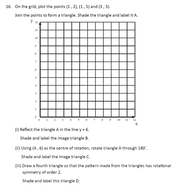The Perse Upper School - Year 9 Maths Specimen Paper 4 Question 18