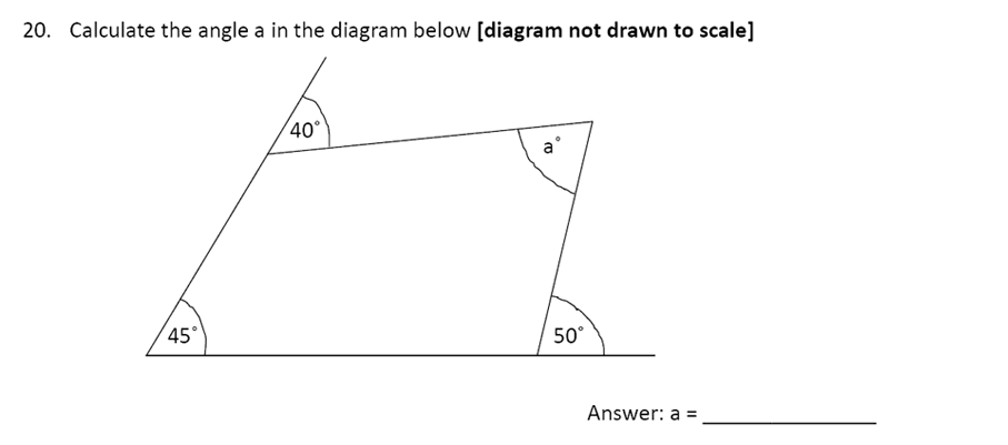 The Perse Upper School - Year 9 Maths Specimen Paper 4 Question 22