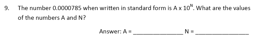 The Perse Upper School - Year 9 Maths Specimen Paper 5 Question 09