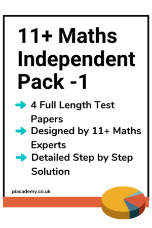 11 Plus Independent Maths Papers Pack 1 with answers