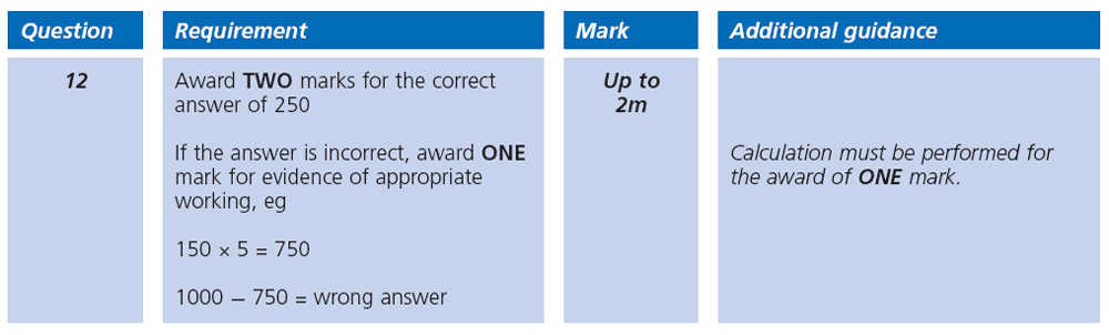 Answer 12 Maths KS2 SATs Papers 2003 - Year 6 Practice Paper 1, Numbers, Multiplication, Word Problems, Subtraction, Measurement, Unit Conversions