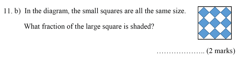 Bancroft's School - Sample 11+ Maths Paper 2020 Question 14, Numbers, Fractions, Word Problems