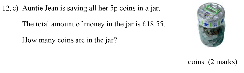 Bancroft's School - Sample 11+ Maths Paper 2020 Question 17, Numbers, Addition, Subtraction, Multiplication, Division, Money, Word Problems