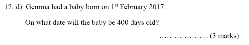 Bancroft's School - Sample 11+ Maths Paper 2020 Question 23, Numbers, Word Problems, Measurement, Unit Conversions, Time