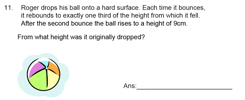 James Allen's Girls' School - 11+ Maths Sample Paper 1 - 2020 Question 12, Numbers, Fractions, Word Problems, Logical Problems
