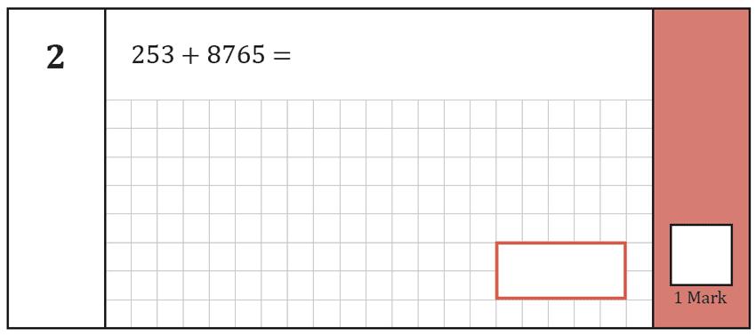 Question 02 Maths KS2 SATs Test Paper 8 - Arithmetic Part A