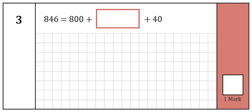 Question 03 Maths KS2 SATs Test Paper 7 - Arithmetic Part A