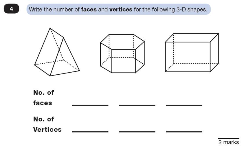 Question 04 Maths KS2 SATs Test Paper 4 - Reasoning Part C