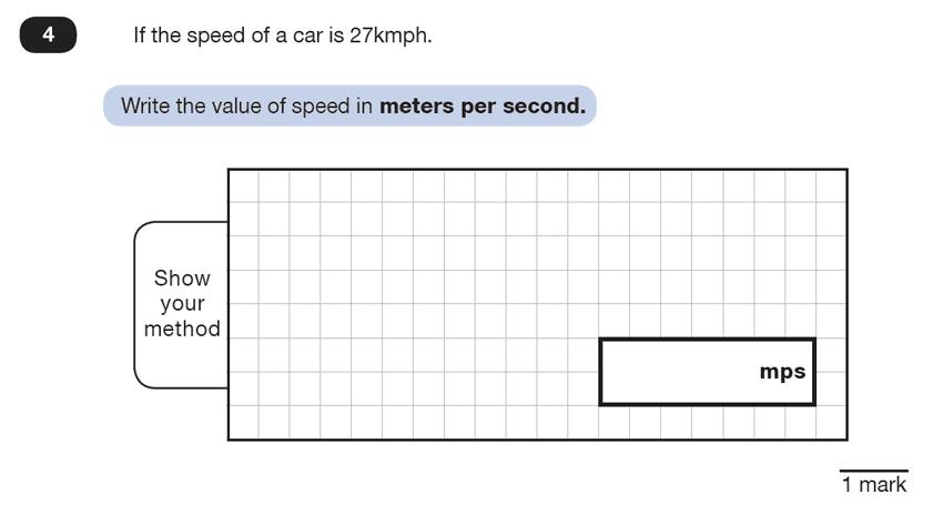 Question 04 Maths KS2 SATs Test Paper 5 - Reasoning Part B