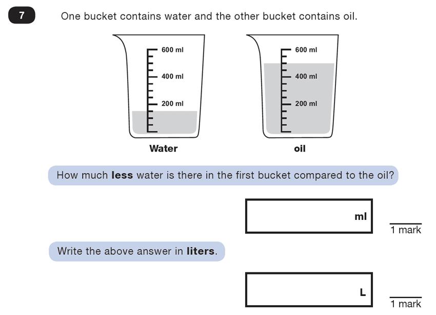Question 07 Maths KS2 SATs Test Paper 4 - Reasoning Part C