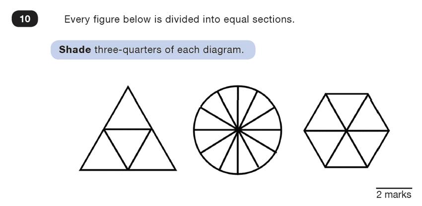 Question 10 Maths KS2 SATs Test Paper 4 - Reasoning Part B