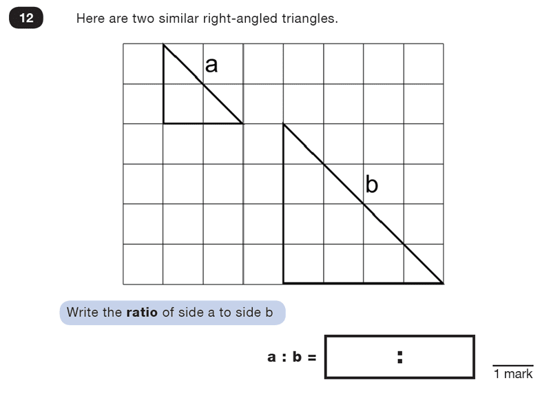 Question 12 Maths KS2 SATs Test Paper 2 - Reasoning Part C