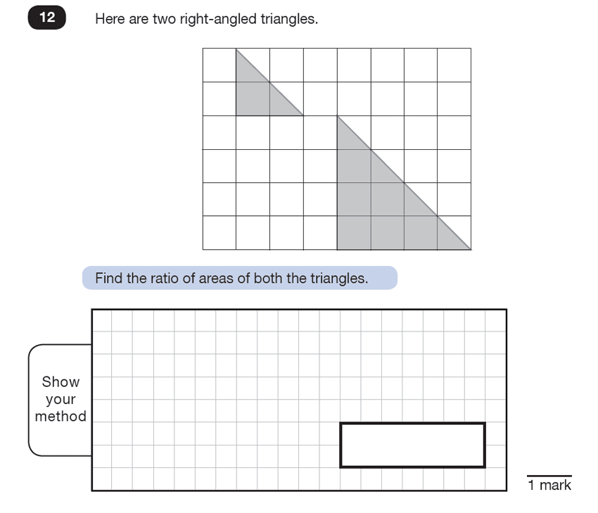 Question 12 Maths KS2 SATs Test Paper 7 - Reasoning Part C