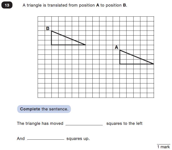 Question 13 Maths KS2 SATs Test Paper 3 - Reasoning Part C