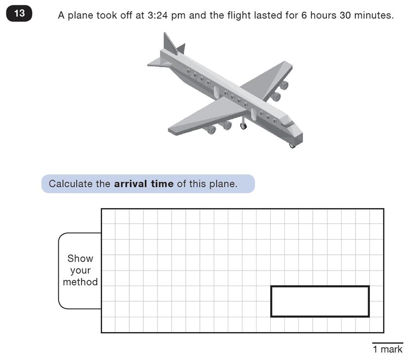 Question 13 Maths KS2 SATs Test Paper 5 - Reasoning Part B