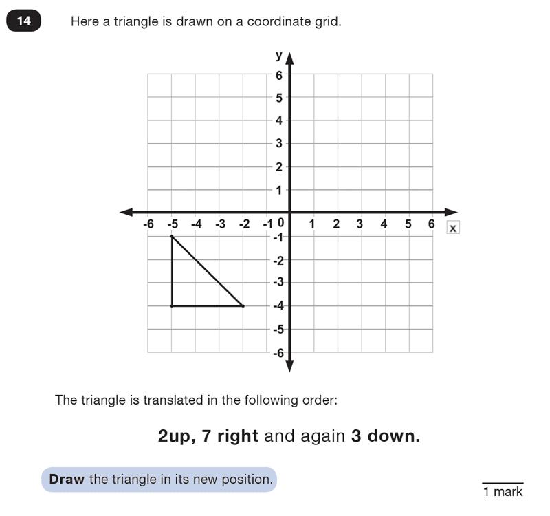 Question 14 Maths KS2 SATs Test Paper 7 - Reasoning Part B