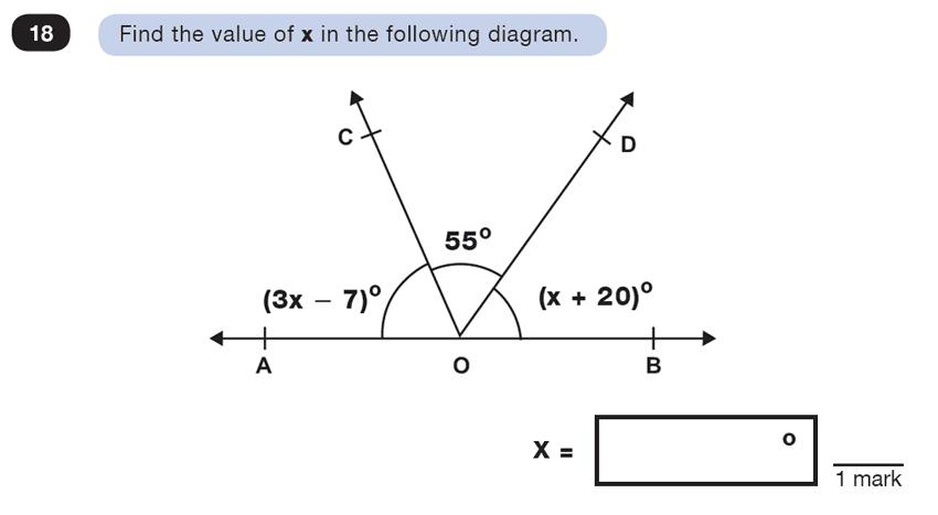 Question 18 Maths KS2 SATs Test Paper 4 - Reasoning Part B